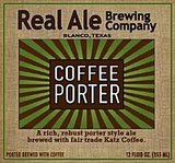 Real Ale Coffee Porter Beer
