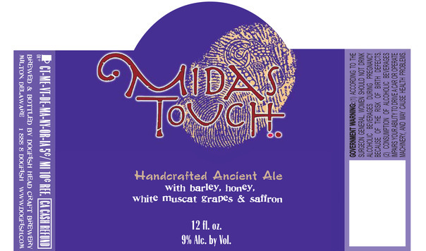 Dogfish Head Midas Touch Beer