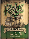 Rahr & Sons Stormcloud IPA Beer