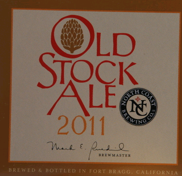 North Coast Old Stock Ale 2011 Beer