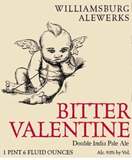 Williamsburg AleWerks Bitter Valentine Beer