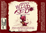 Rascal's Wild Red Raspberry Lager Beer