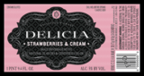 Delicia Strawberries & Cream Beer
