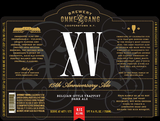 Ommegang XV 15th Anniversary Ale Beer