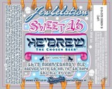 Hebrew Jewbelation Sweet 16 Beer