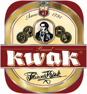 Photo Of Bosteels Pauwel Kwak Beer Label