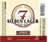 Bay State Sieben  Lager Beer
