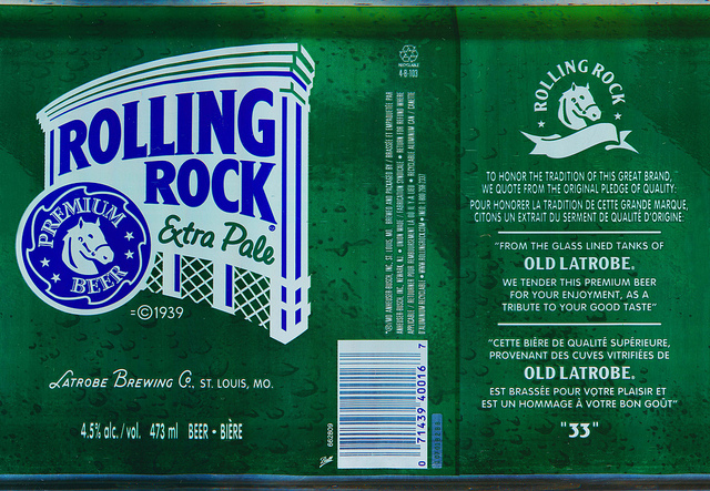 Rolling Rock Extra Pale Beer