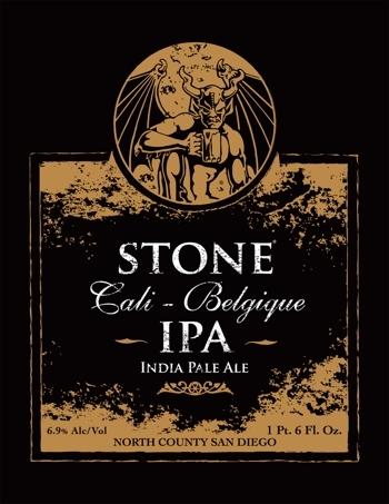 Stone Cali-Belgique IPA Beer