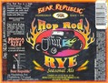 Bear Republic Hop Rod Rye Beer
