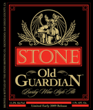 Stone Old Guardian Barleywine 2009 Beer