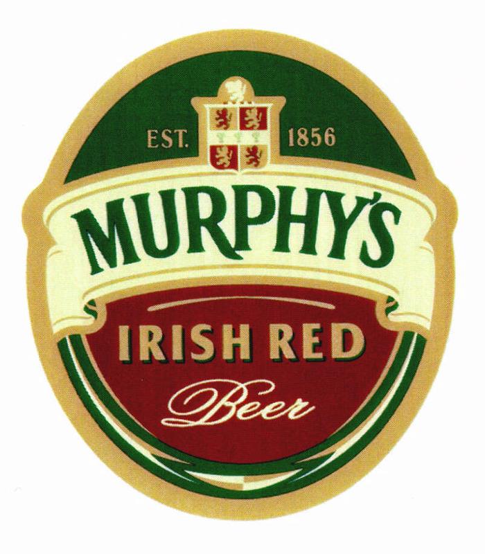 Photo of Murphy's Irish Red Beer Label
