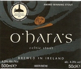O'Hara's Irish Stout Beer
