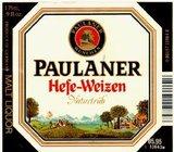 Paulaner Hefeweizen Beer