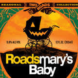 Two Roads Roadsmary's Baby Rum Barrel Aged Pumpkin Beer