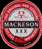 Mackeson XXX Stout Beer