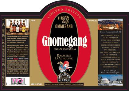 Ommegang Gnomegang Beer
