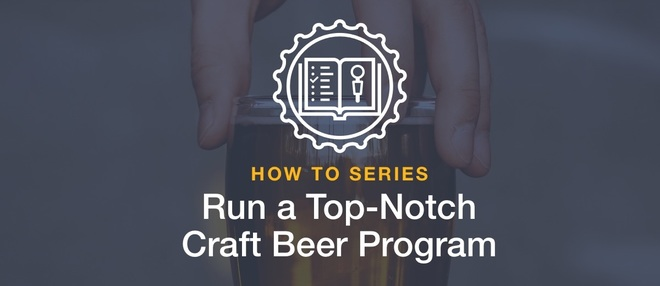 good craft beer program
