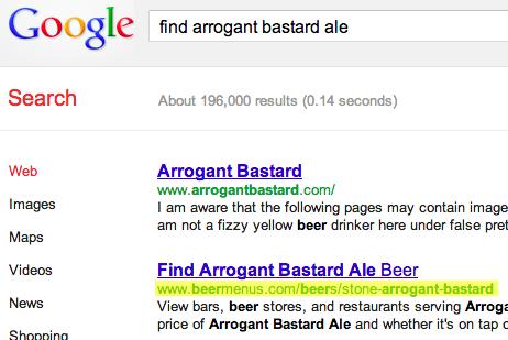 find-craft-beer-using-google