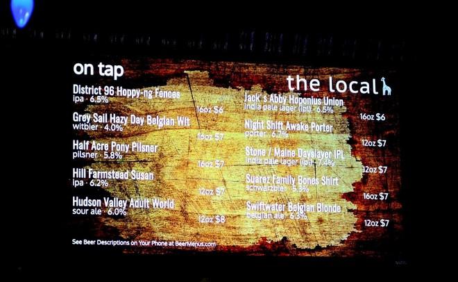 Digital Beer Board