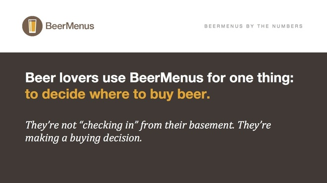 BeerMenus By the Numbers Page 1