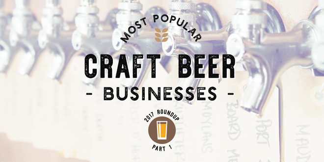 Most Popular Craft Beer Businesses