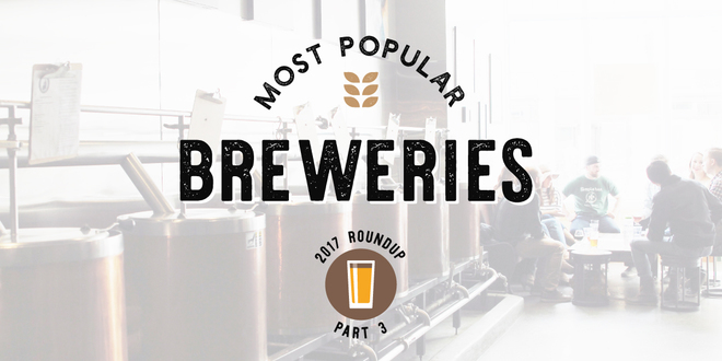 Most Popular Breweries