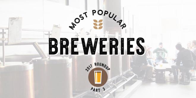 Most Popular Breweries