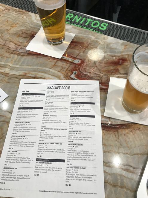 Print Beer Menu