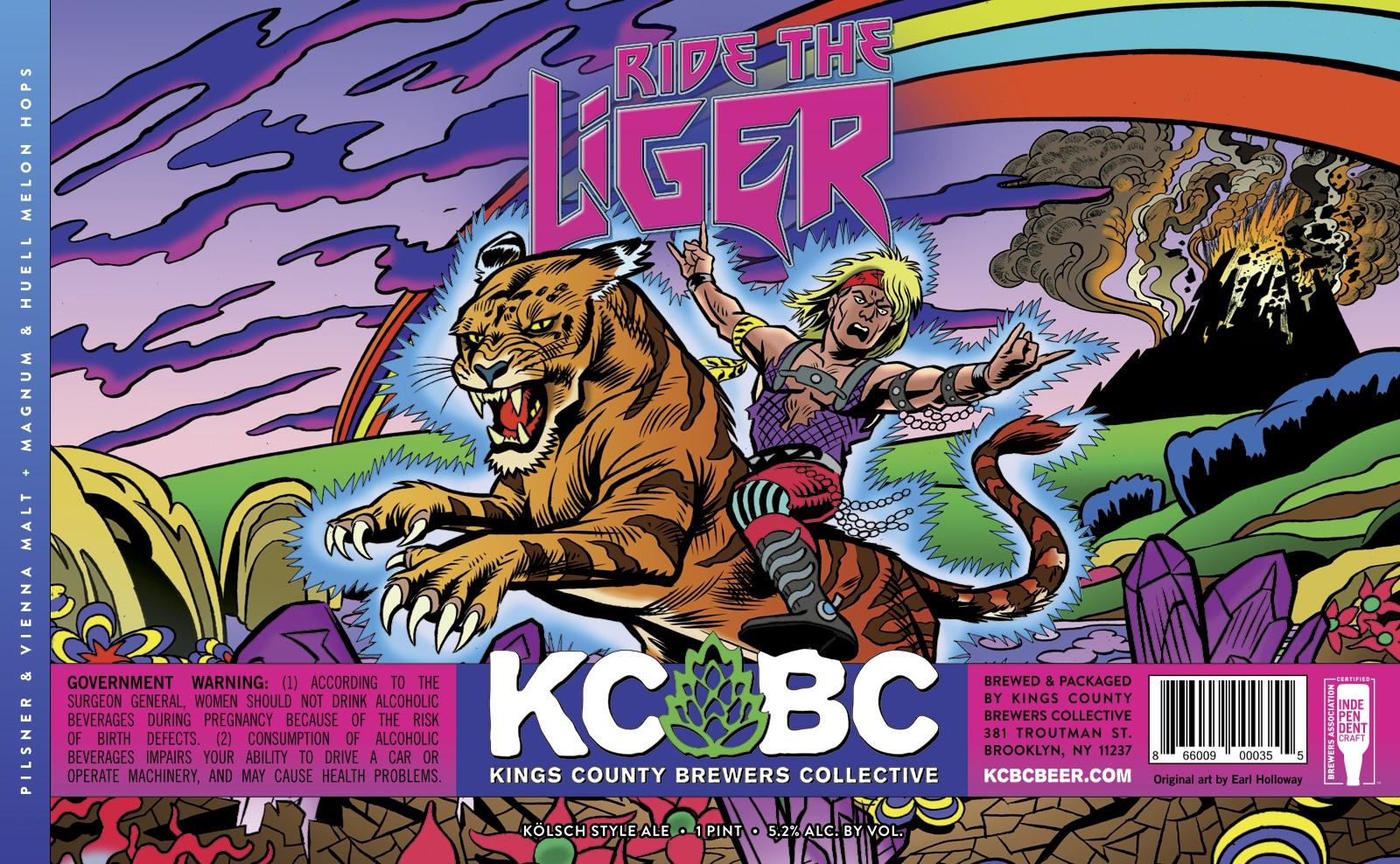 Ride The Liger