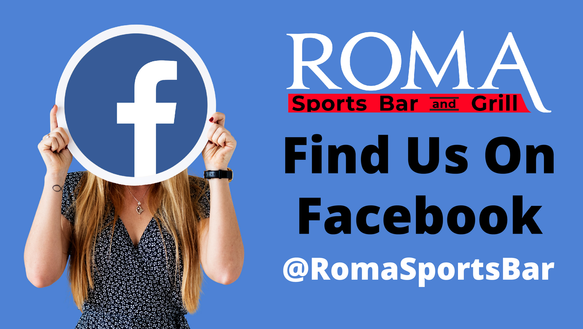 Horizontal roma sport bar and grill digital special 3708a3fb